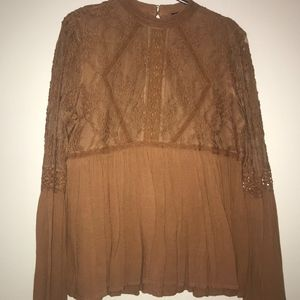 Brownish/Lace top